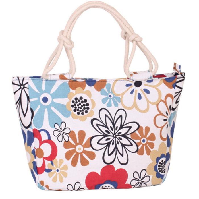 Canvas Tote Bags Ladies Handbag