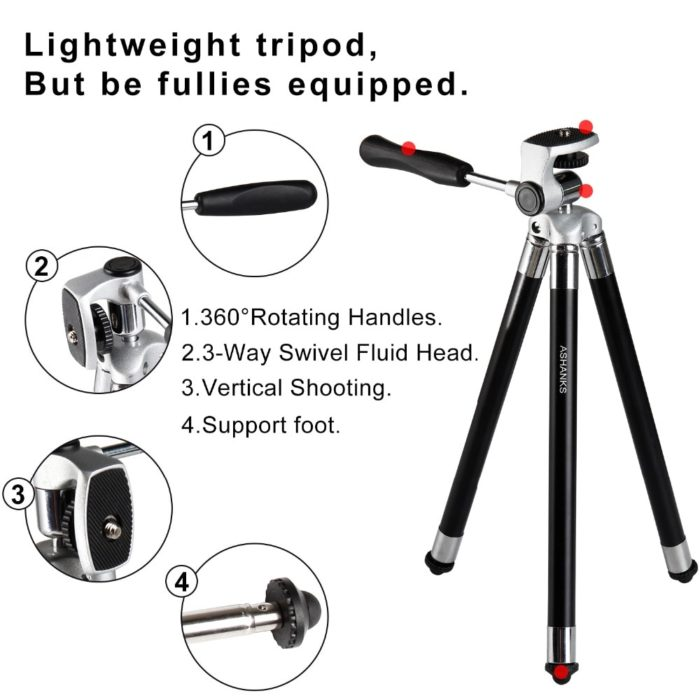 Mobile Tripod Travel Camera Accessory