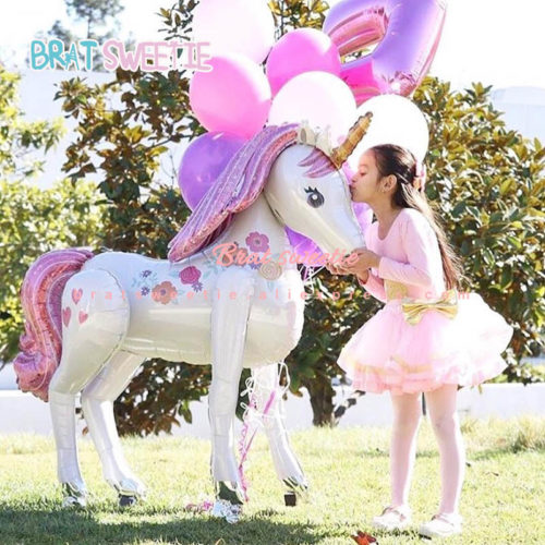 Unicorn Party Decorations Foil Balloons