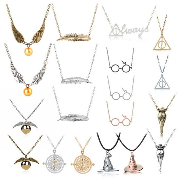 Harry Potter Necklace Fashion Accessories