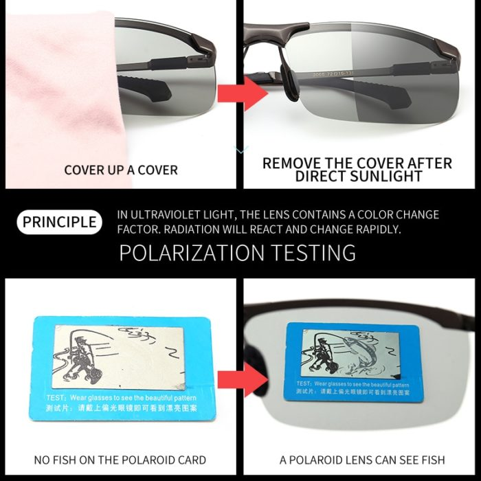 Photochromic Sunglasses Eyewear