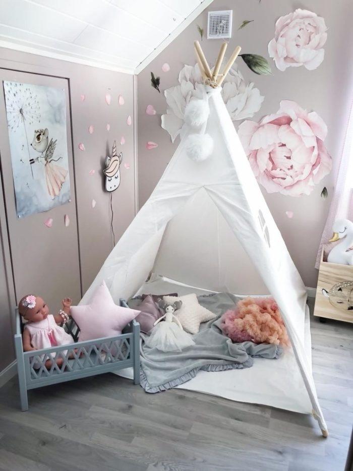 Teepee Tent Kids Playhouse
