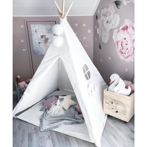 Teepee Tent Kids Playhouse