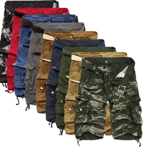 Mens Cargo Shorts Cool Fashion