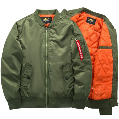 Bomber Jacket Men Fashion