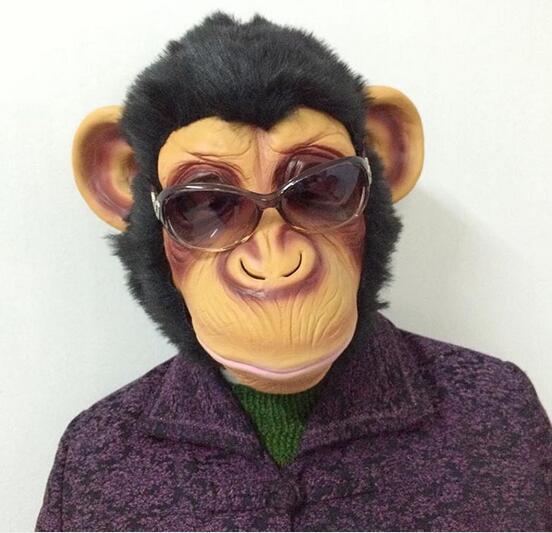 Gorilla Mask Masquerade Costume