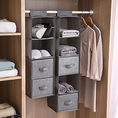 Wardrobe Organiser Hanging Storage
