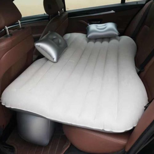 Inflatable Car Bed Travel Set