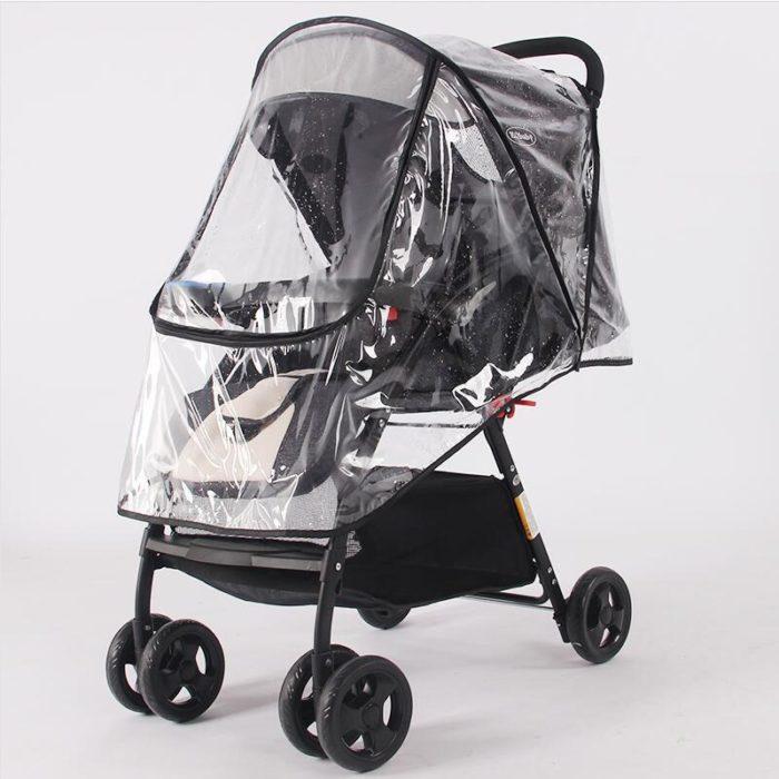 Stroller Rain Cover Waterproof Shield