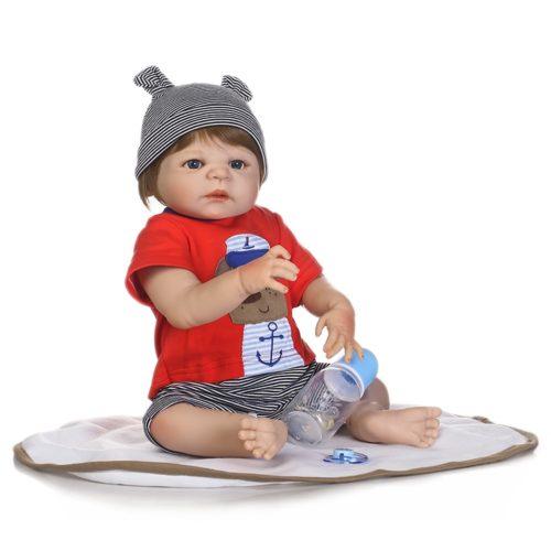 Baby Boy Doll Realistic Silicone Toy