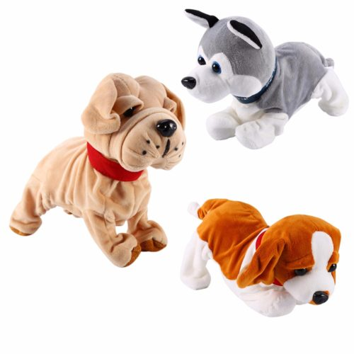 Robot Dog Toy Sound Control Novelty