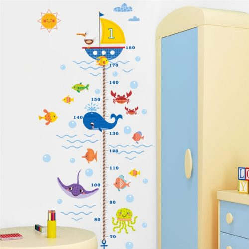 Kids Growth Chart Wall Sticker