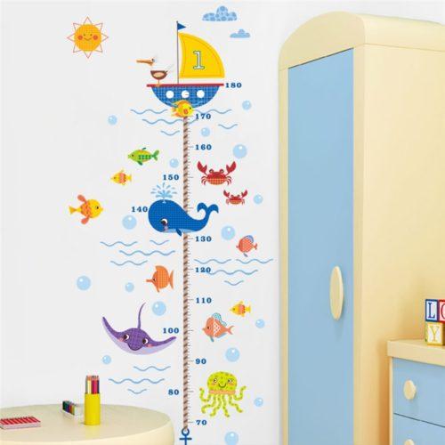 Kids Growth Chart Wall Sticker