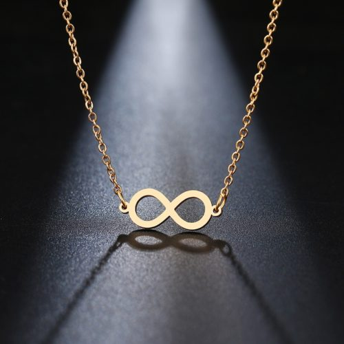 Infinity Necklace Fashion Jewelry
