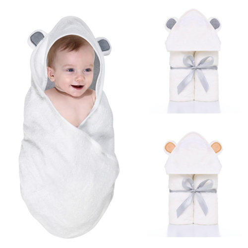Hooded Towels Baby Bath Robe