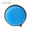 blue Round 8.3x3.5cm