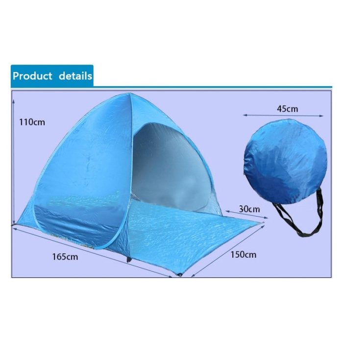 Pop Up Beach Tent Ultralight Sun Shade
