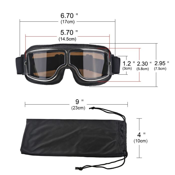 Motorcycle Goggles Foldable Glasses