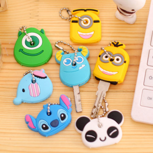 Car Key Cover Cartoon Design