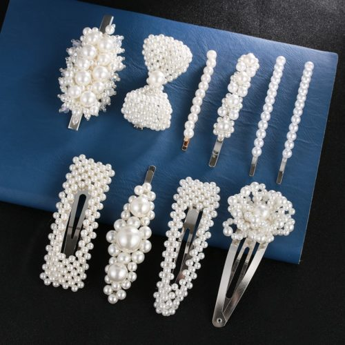 Bridal Hair Pieces Pearl Designs