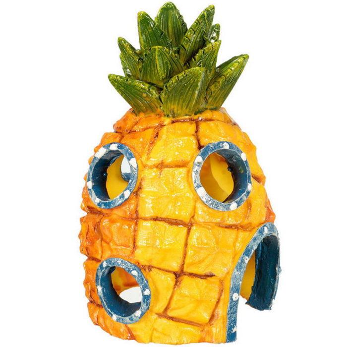 Fish Tank Ornaments Spongebob Design