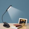 Book Lamp Flexible Clip-On Light