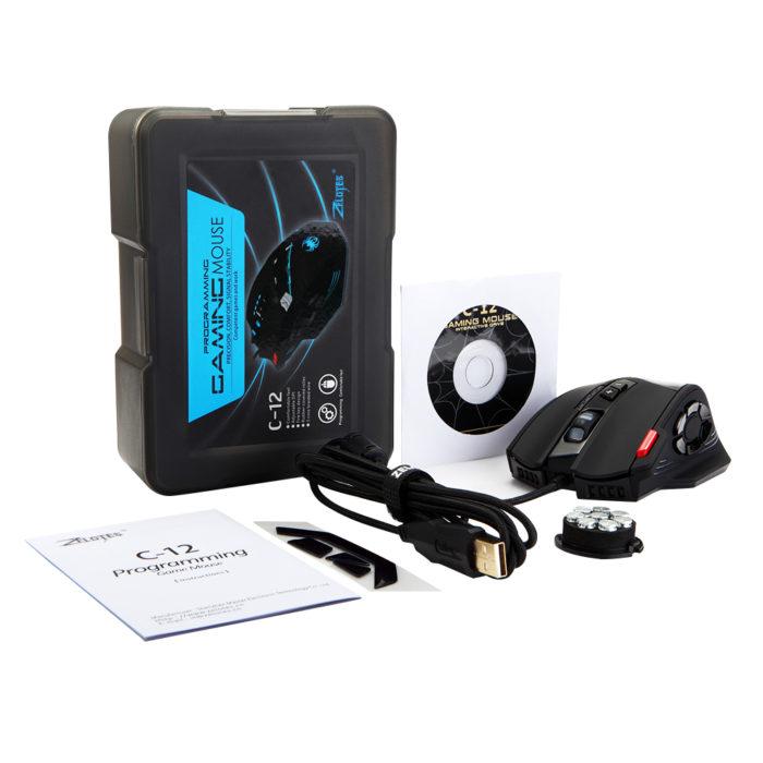 Gamer Mouse LED Lights Optical Device