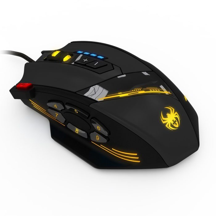 Gamer Mouse LED Lights Optical Device
