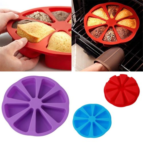 Silicone Baking Tray Cake Slice Mold