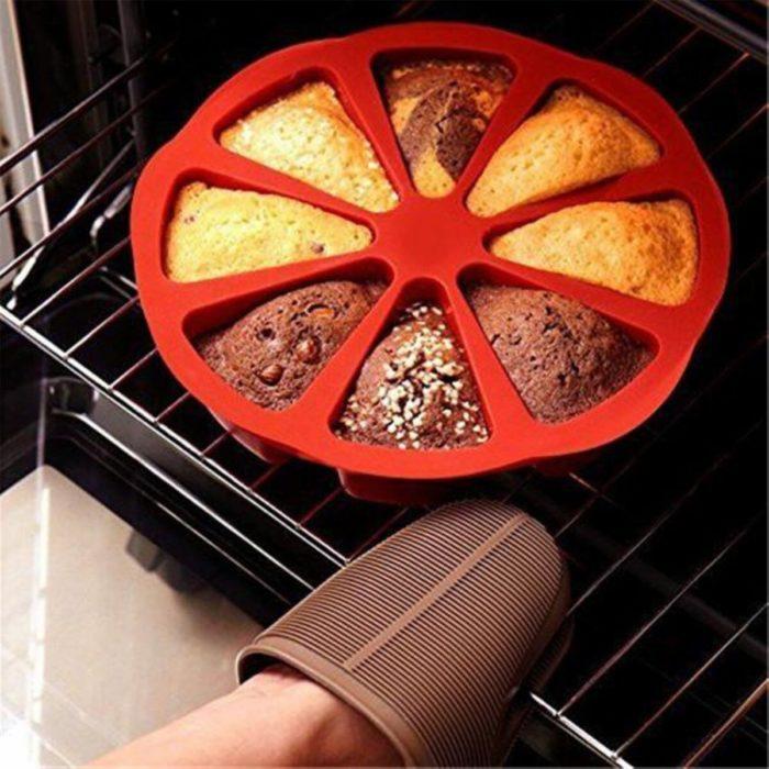 Silicone Baking Tray Cake Slice Mold