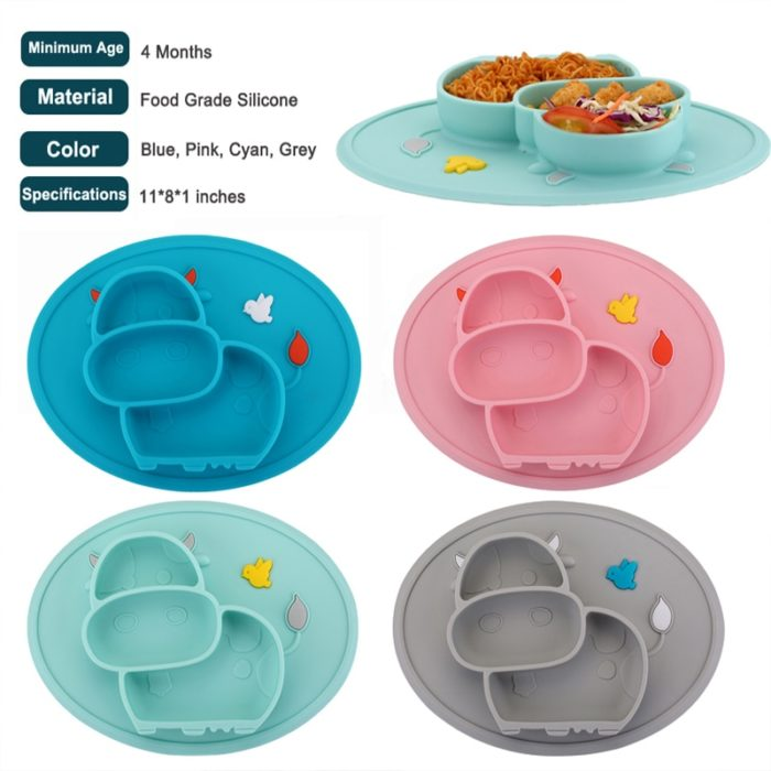 Kids Placemats Feeding Plate