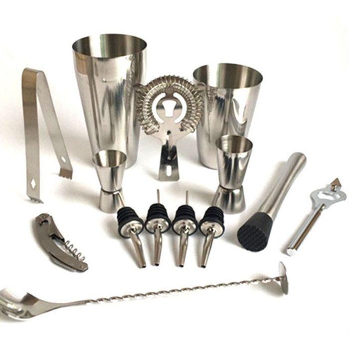 Cocktail Shaker Set 13PC Tool Kit