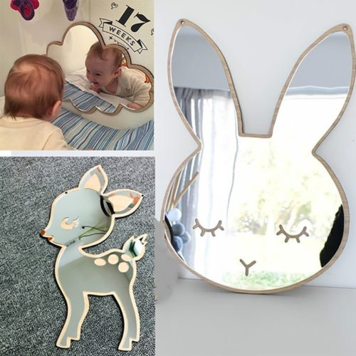 Decorative Mirrors Cartoon Wall Decors