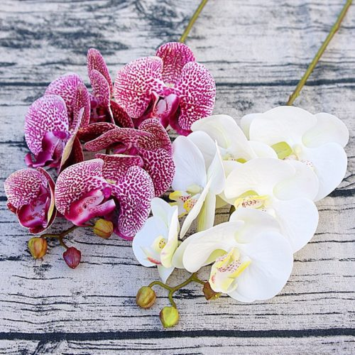 Artificial Orchids Flower Decorations