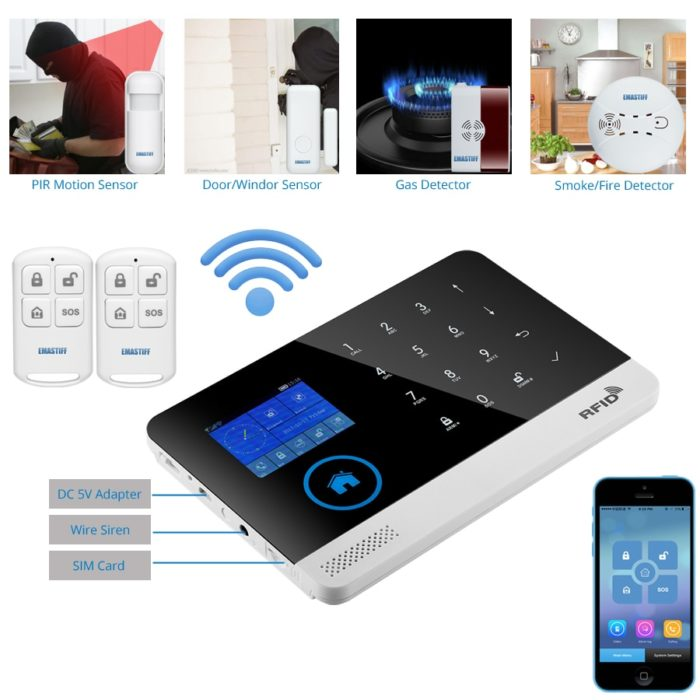 Security Alarm System Motion Sensor