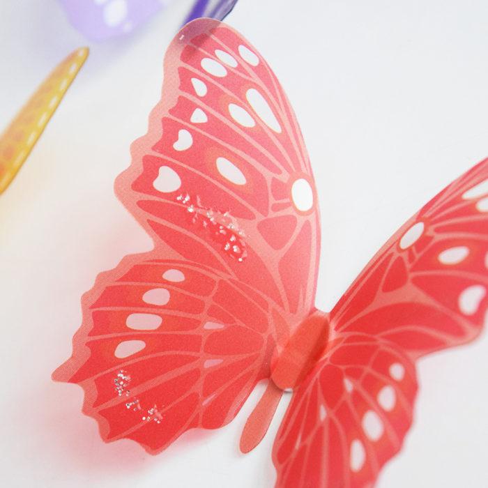 Removable Wall Decals 3D Butterflies