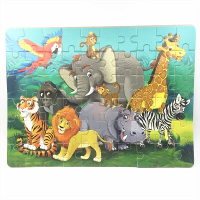 Animal Puzzle 3D Wooden Toy