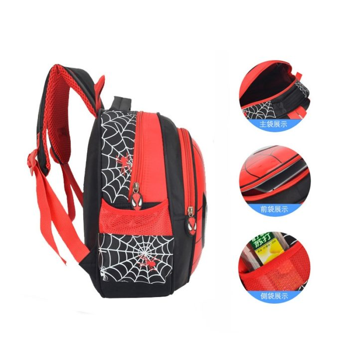 Spiderman Backpack Children's Knapsack