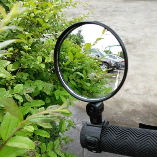 Bicycle Mirrors Wide-Angle Rearview