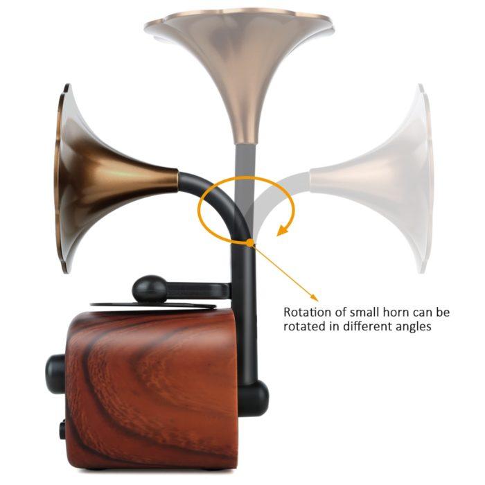 Portable Wireless Speaker Retro Bluetooth
