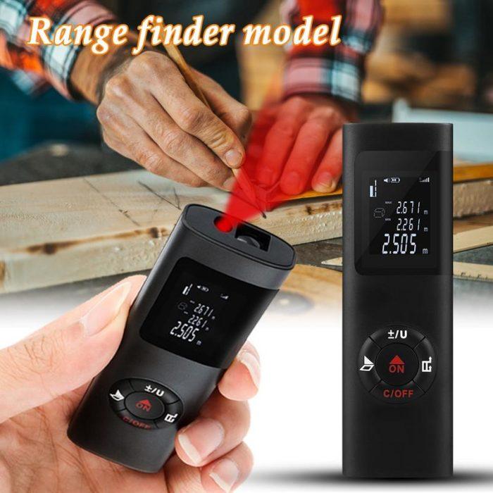 Laser Distance Meter Pocket Tool
