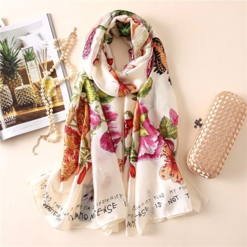 Silk Scarf Ladies Headscarf