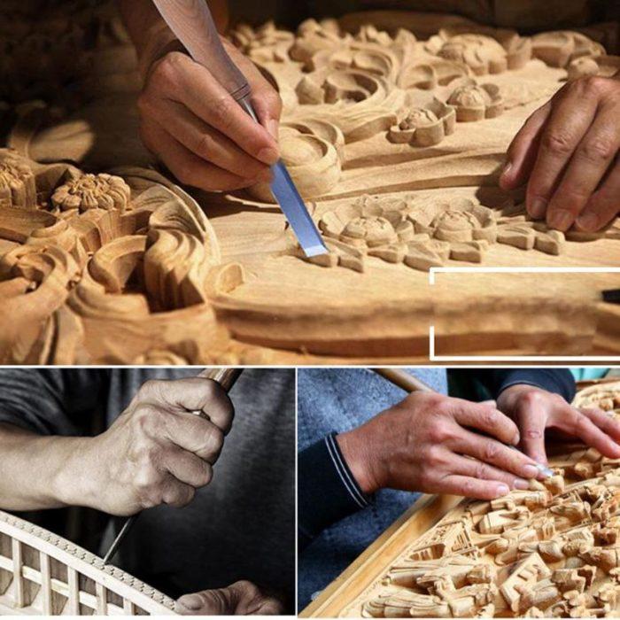 Chisel Set 12PC Wood Carving Tools