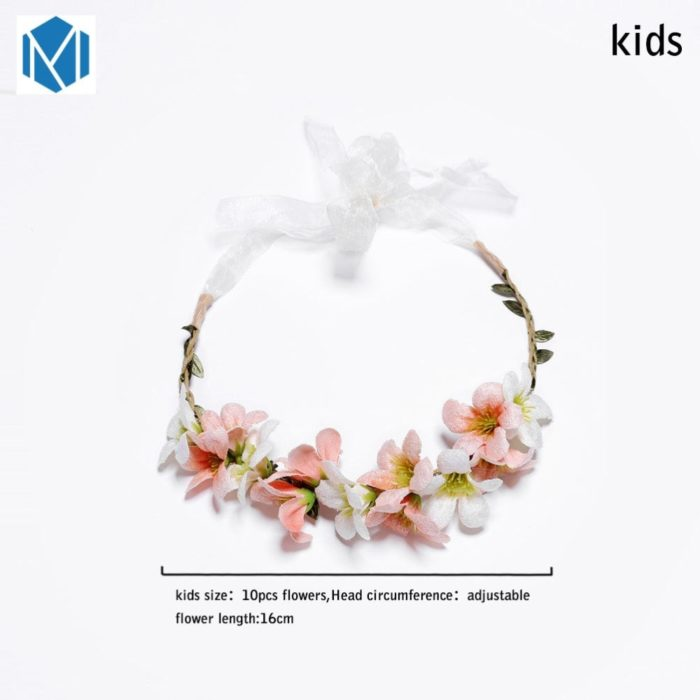 Floral Headbands Kids Hair Accessories