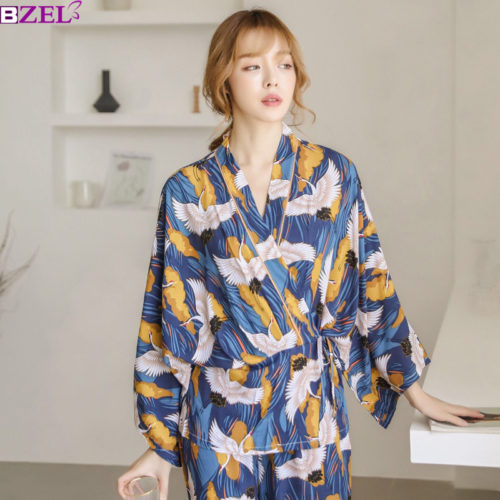 Pyjama Sets Elegant Ladies Sleepwear