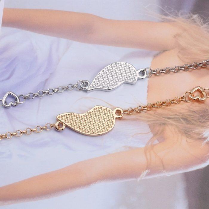 Best Friend Bracelets Puzzle Heart Jewelry