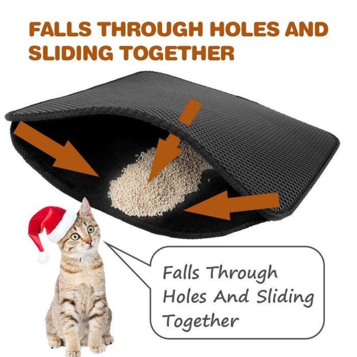 Cat Litter Mat Double-Layer Pad