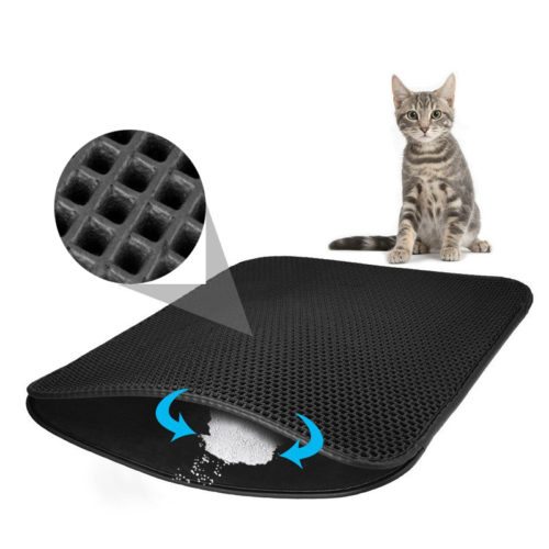 Cat Litter Mat Double-Layer Pad