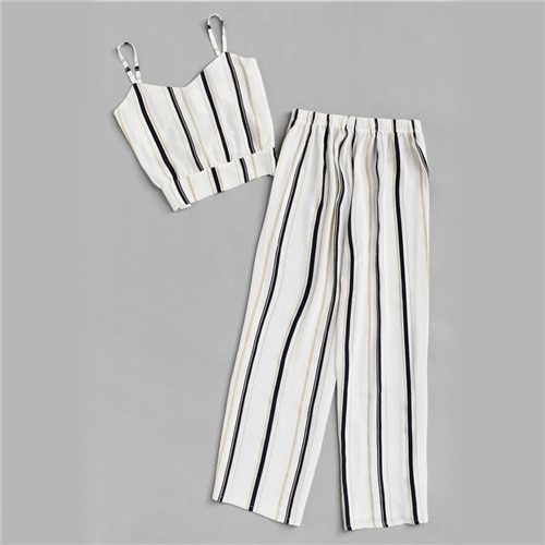 Summer Wear Stripes Print