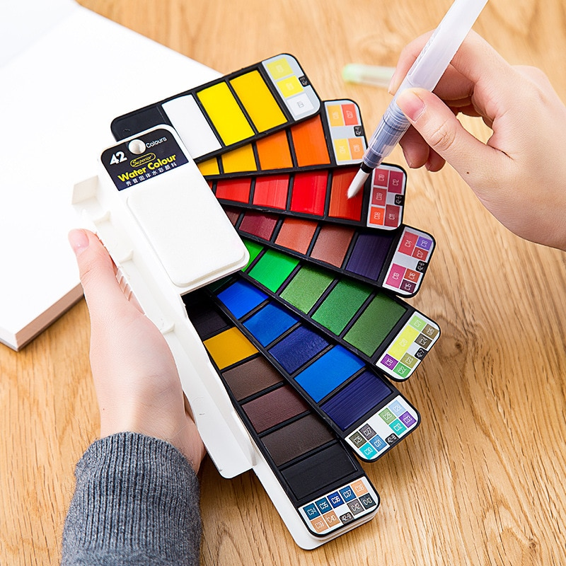 Watercolor Solid Paint Set